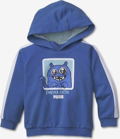 PUMA Sweat-shirt 'Monster' en bleu marine / opal / gris clair / noir / blanc, Vue avec produit