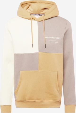 Redefined Rebel Sweatshirt 'Xavier' in Beige