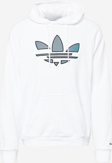 ADIDAS ORIGINALS Sweatshirt in taubenblau / schwarz / weiß, Produktansicht