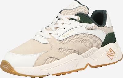 Sneaker low 'Nicewill' GANT pe maro cămilă / verde închis / alb, Vizualizare produs