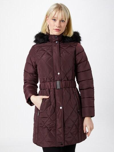 Dorothy Perkins Zimski plašč | vinsko rdeča barva, Prikaz modela