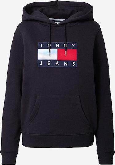Tommy Jeans Bluzka sportowa w kolorze czerwony / czarny / białym, Podgląd produktu