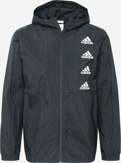 ADIDAS PERFORMANCE Športová bunda 'FAVS Q2 WB' - čierna / biela, Produkt