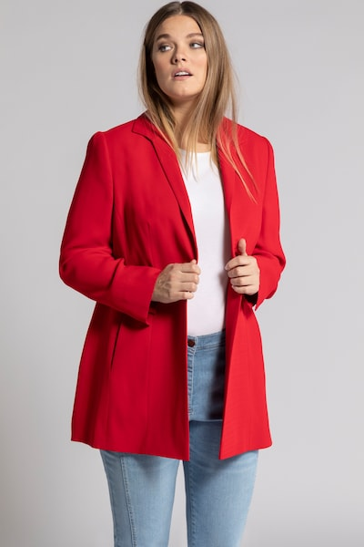 Ulla Popken Blazer in rot, Modelansicht