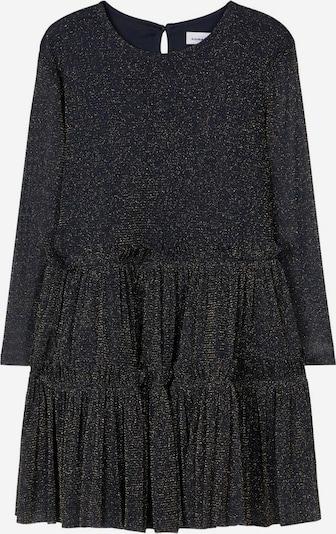 NAME IT Kleid in gold / schwarz, Produktansicht