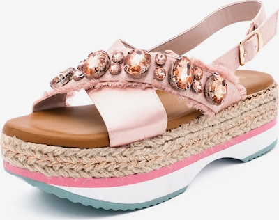 Kamoa Sandale in rosa, Produktansicht