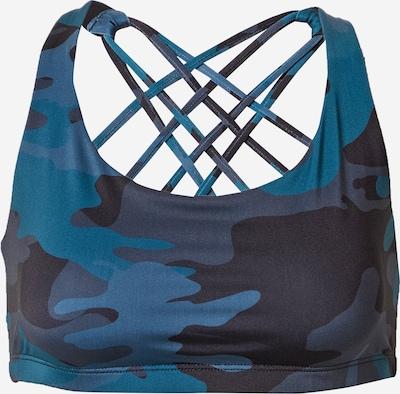 Onzie Soutien-gorge de sport 'Chic' en bleu marine / bleu-gris / bleu ciel, Vue avec produit