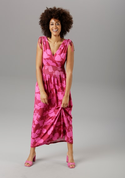 Aniston SELECTED Maxikleid in pink, Modelansicht