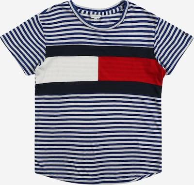 TOMMY HILFIGER T-Shirt in nachtblau / rot / weiß, Produktansicht