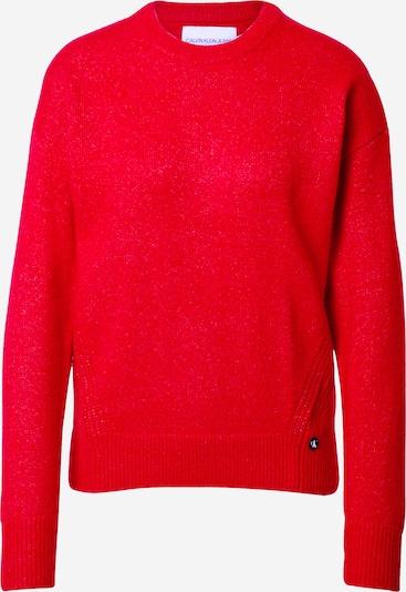 Calvin Klein Jeans Pullover 'Lofty Yarn' in rot, Produktansicht