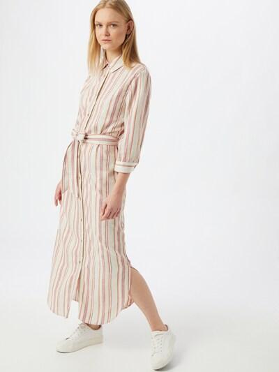 b.young Kleid 'DENANNA' in beige / dunkelbraun / apricot / rosé / weiß, Modelansicht