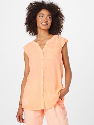 Soccx Blouse in Orange