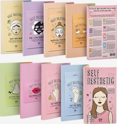 G9 Skin Maske 'Self Aesthetic Magazine' in weiß, Produktansicht