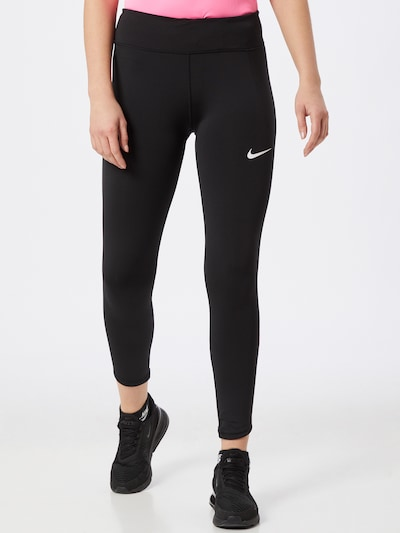 NIKE Leggings in pink / schwarz / weiß: Frontalansicht