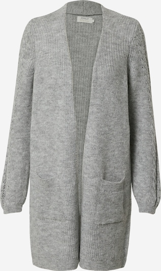 ONLY Cardigan in grau: Frontalansicht