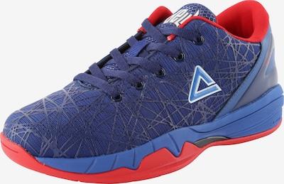 PEAK Basketballschuh mit Print in blau / rot, Produktansicht