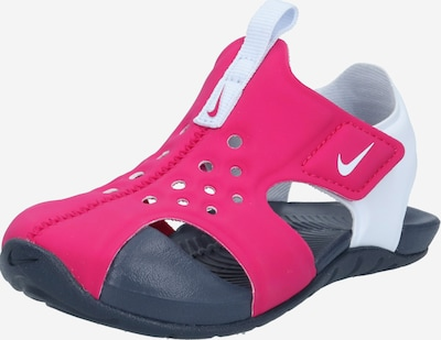 Nike Sportswear Zapatos para playa y agua 'Sunray Protect 2' en rosa / blanco, Vista del producto