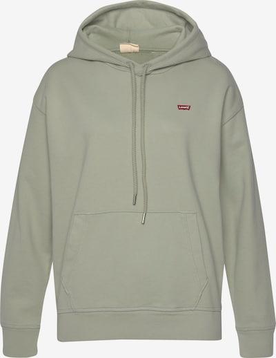 LEVI'S Sweatshirt in de kleur Olijfgroen / Bloedrood, Productweergave