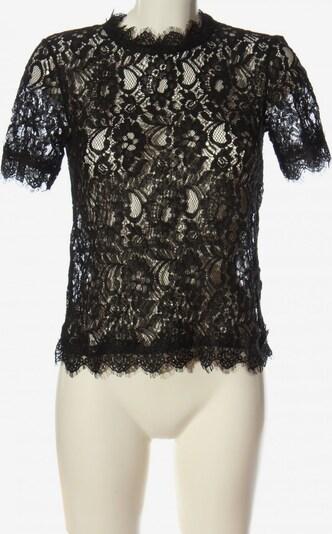 ONE MORE STORY Transparenz-Bluse in M in schwarz, Produktansicht