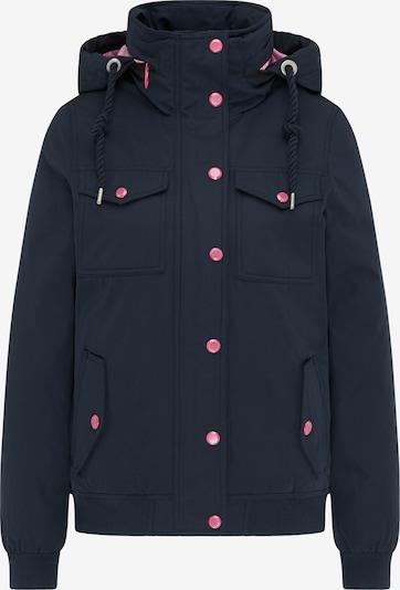 MYMO Veste d'hiver en bleu marine / rose, Vue avec produit
