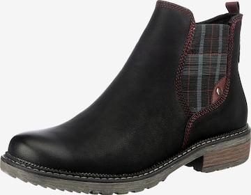 Relife Chelsea Boots in Schwarz