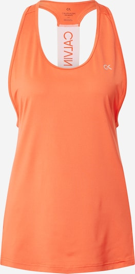 Calvin Klein Performance Sports Top in Coral / White, Item view