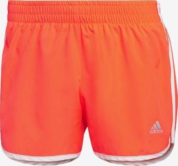 ADIDAS PERFORMANCE Spordipüksid, värv punane
