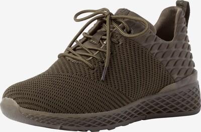 MARCO TOZZI Låg sneaker i khaki, Produktvy