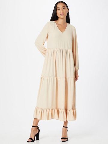 GLAMOROUS Dress in Beige