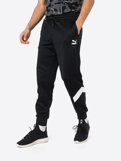 PUMA Hose in schwarz / weiß, Modelansicht
