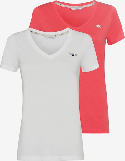 Tom Tailor Polo Team Tom Tailor Polo Team LM T-Shirt in pink, Produktansicht