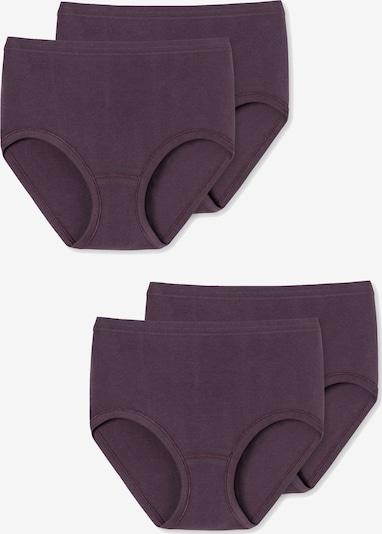 SCHIESSER Broekje ' Taillenslip ' in de kleur Donkerlila: Vooraanzicht