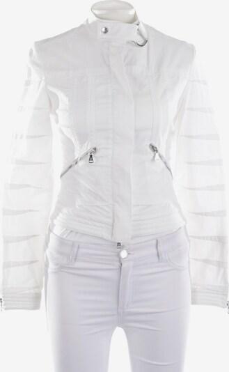 Gianfranco Ferré Übergangsjacke in XS in weiß, Produktansicht
