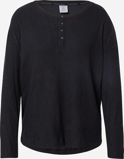Calvin Klein Underwear Schlafshirt in schwarz, Produktansicht