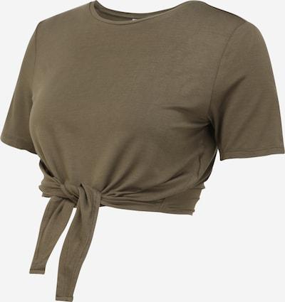 Pieces Maternity Shirt 'NEORA' in de kleur Kaki, Productweergave