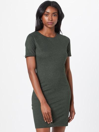 Rochie Fli Papigu pe verde amestecat, Vizualizare model