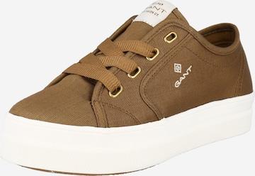Sneaker low 'Leisha' de la GANT pe maro