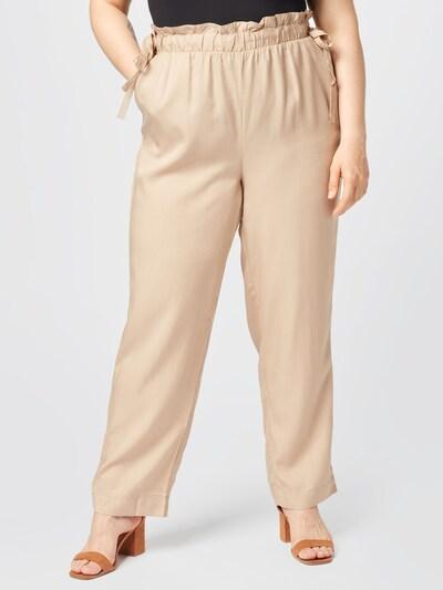 Vero Moda Curve Hose 'Lizz' in beige, Modelansicht