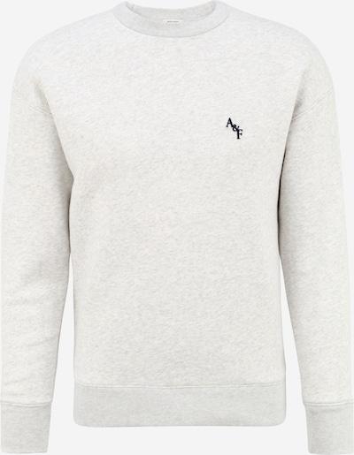 Abercrombie & Fitch Sweatshirt in graumeliert / schwarz, Produktansicht