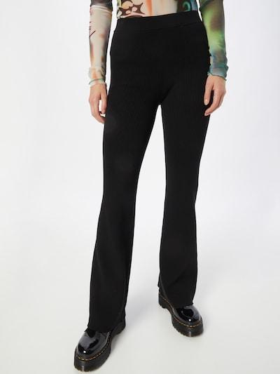 WEEKDAY Hose 'Orina' in schwarz, Modelansicht