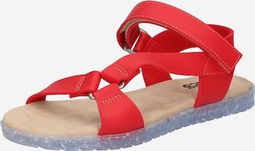 raudona thies Sportinio tipo sandalai