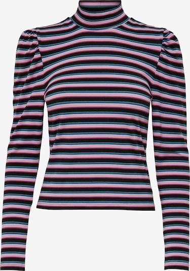 ONLY Shirt 'Dream' in blau / royalblau / pink / schwarz, Produktansicht