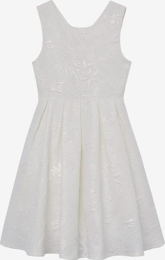 MANGO KIDS Kleid bibi-a in weißmeliert, Produktansicht