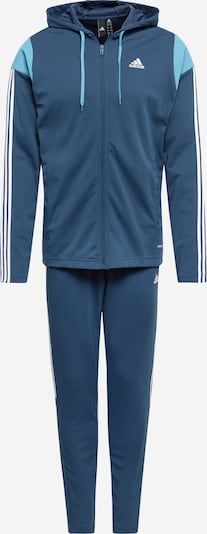 ADIDAS PERFORMANCE Treniņtērps 'Rib' zils / balts, Preces skats