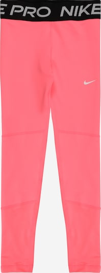 NIKE Sports trousers in grey / light pink / black, Item view