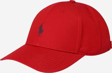 Casquette 'BASELINE' Polo Ralph Lauren en rouge