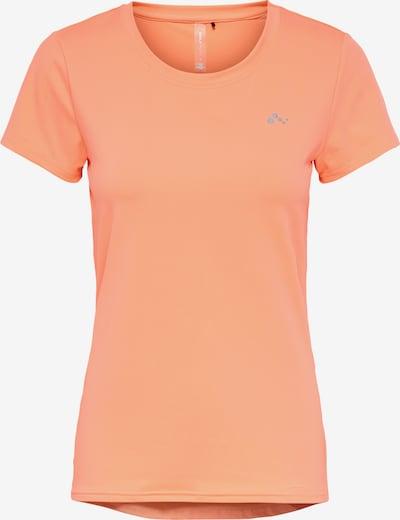 ONLY PLAY Sport-Shirt 'Clarissa' in grau / koralle, Produktansicht