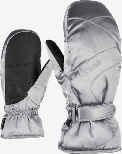 ZIENER Skihandschuhe 'KADDYLA MITTEN lady glove' in silber, Produktansicht