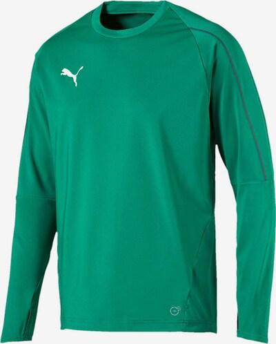 PUMA Sweatshirt in grün: Frontalansicht