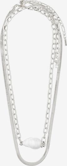 Pilgrim Chaîne 'Gracefulness' en argent / blanc perle, Vue avec produit